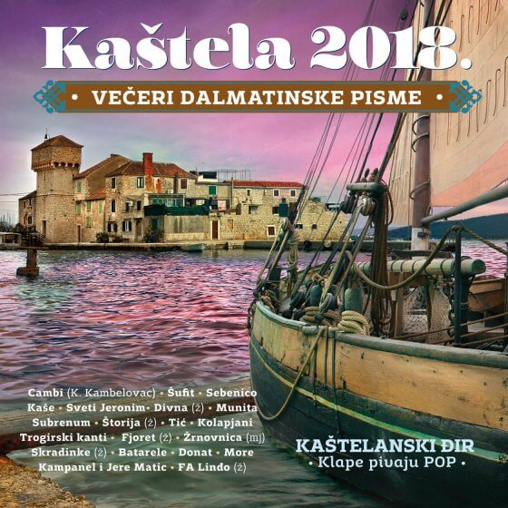 Večeri dalmatinske pisme - Kaštela 2018