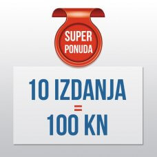 AKCIJA: 10 CD-a = 100 KN