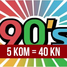 AKCIJA: 90's box