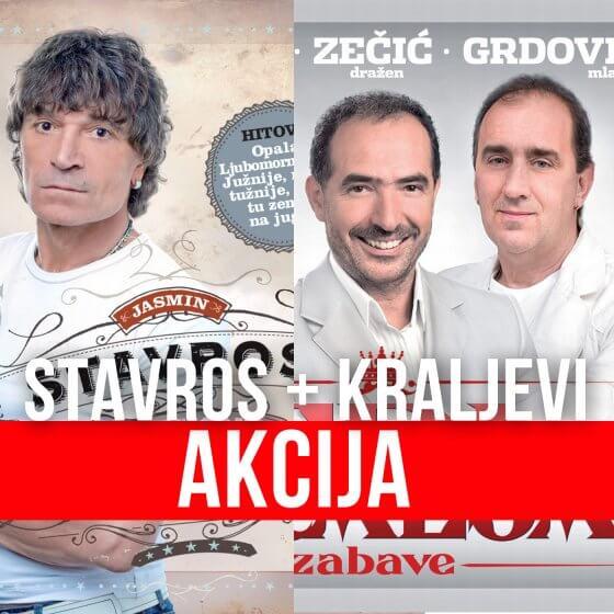 AKCIJA: Stavros + 3 kralja zabave